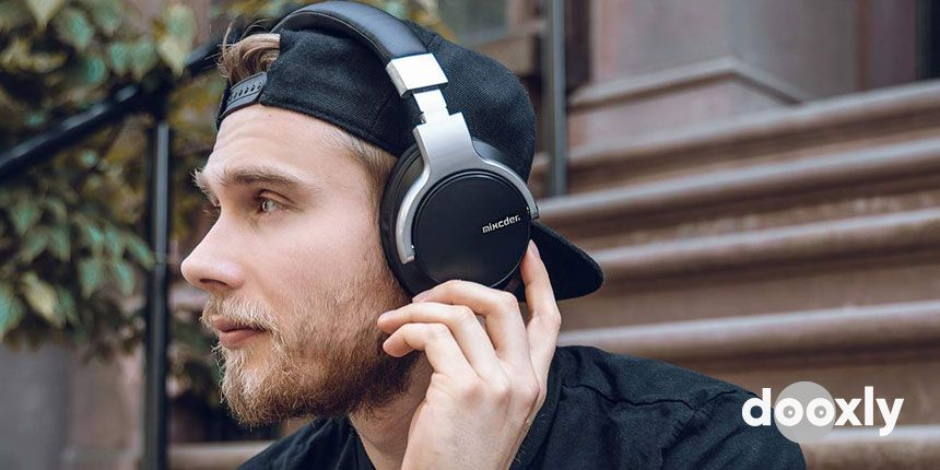 Mixcder E7 Active Noise Cancelling Bluetooth Headphones