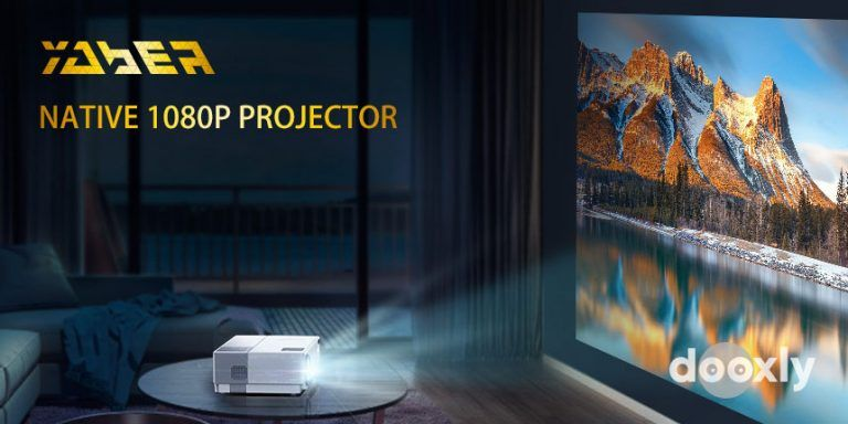 YABER Y31 Review | Native 1920x 1080P Projector 8000L Upgrade Full HD Video Projector