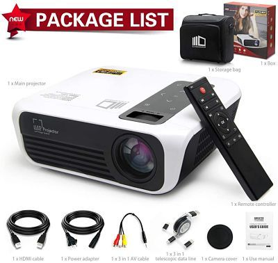 CROSSMIND Native 1080p Full HD Projector Review