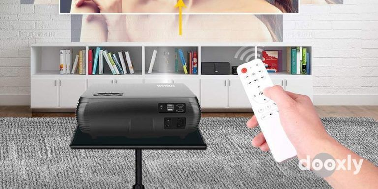 WiMiUS P20 Review | WiFi Projector, WiMiUS Newest P20 7500L Native 1080P Projector Support 4K