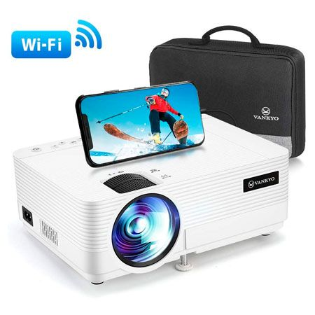 VANKYO Leisure 470 Mini Projector with Synchronize Smart Phone Screen