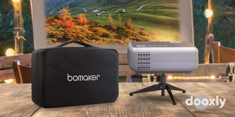 Bomaker Wi-Fi Mini Projector, 6000 Lux | Bomaker GC355 Review