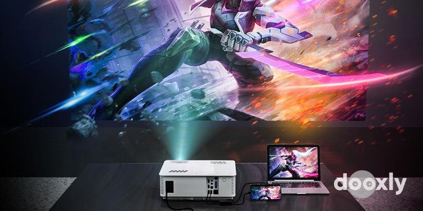 YABER YB1 Native 1080P Movie Projector with 6500 Lumens Review