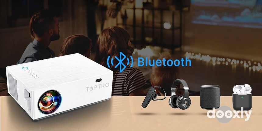 TOPTRO TR81 Bluetooth Projector Review