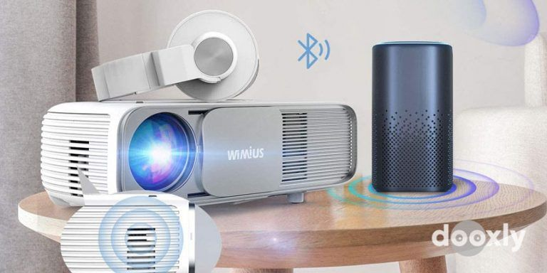 WiMiUS S4 Review | Bluetooth Projector Native 1080P 7200Lux Full HD