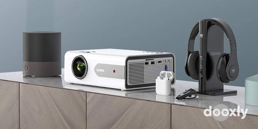 YABER Projector Mini Bluetooth Projector