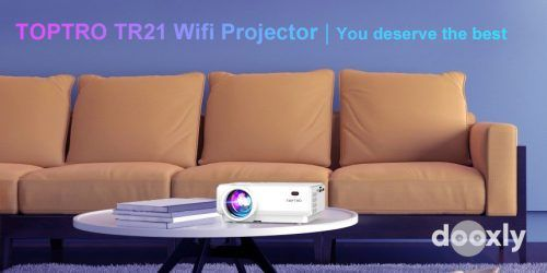TOPTRO TR21 Review | TOPTRO WiFi Projector,5500 Lumens Bluetooth Projector