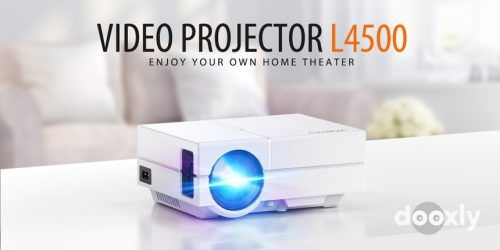 Vamvo L4500 Review | Portable Projector with Dolby Digital Plus Support 1080P