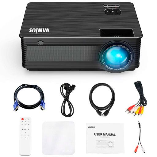 WiMiUS New P18 1080P Video Projector