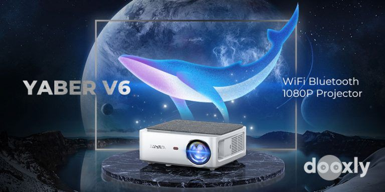 YABER V6 Review | WiFi Bluetooth Projector 8500L Upgrade Full HD Native 1920×1080P