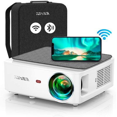 YABER V6 WiFi Bluetooth Projector Full HD Native 1920×1080P Projector