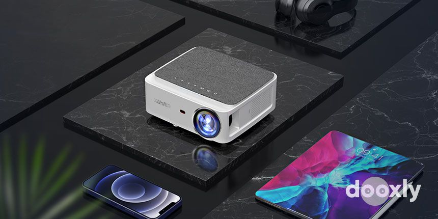 YABER V6 WiFi Bluetooth Projector Review