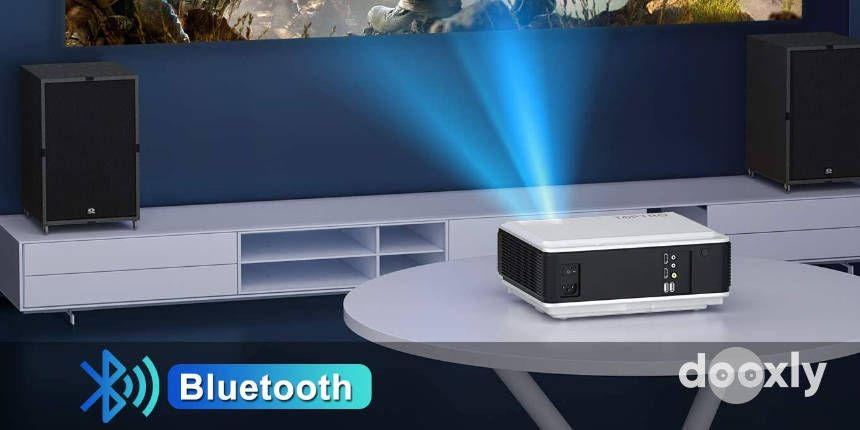 TOPTRO Projector with WiFi and Bluetooth