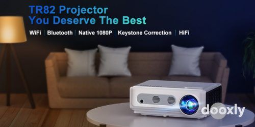 TOPTRO TR82 Review | TOPTRO Projector with WiFi and Bluetooth, 7500L Native 1080P