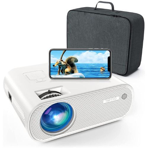 Projector, TOPTRO Projector with WiFi and Bluetooth, Full HD