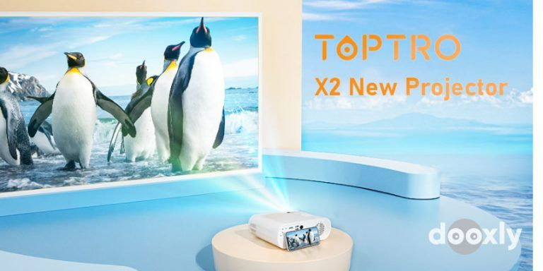 TOPTRO X2 Review | TOPTRO Projector with WiFi and Bluetooth, Full HD 6000 Lumen Support 1080P
