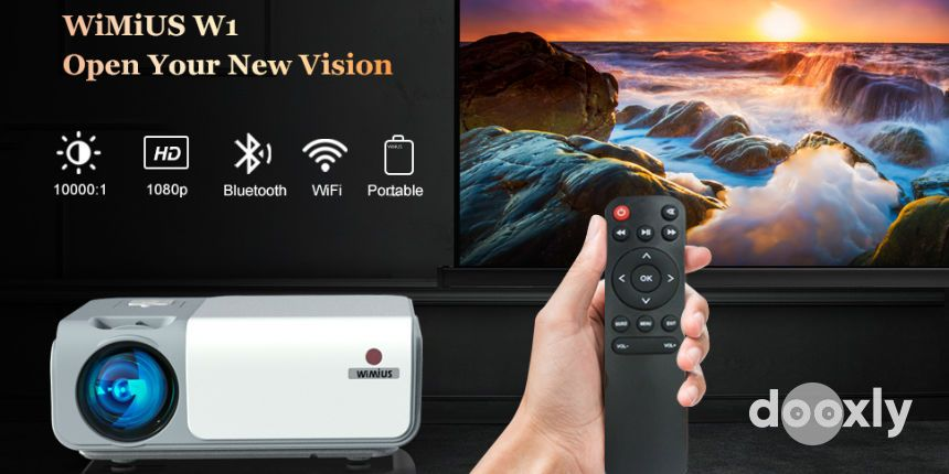 WiMiUS W1 WiFi Bluetooth Projector Review