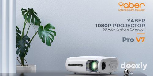 Read more about the article YABER Pro V7 9500L 5G WiFi Bluetooth Projector Review
